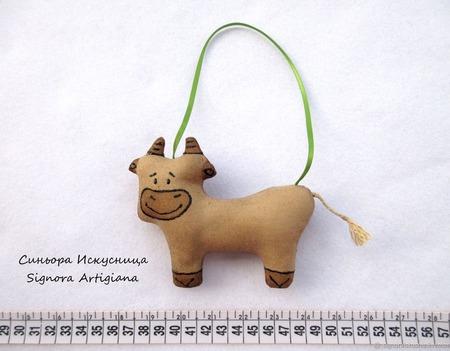 Текстильные коровы Муу ручной работы на заказ