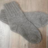 Носки мохер+шерсть