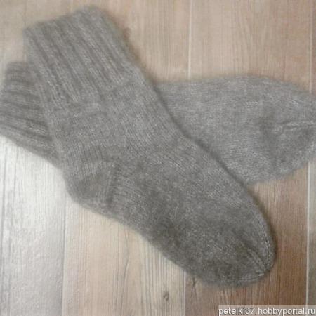 Носки мохер+шерсть ручной работы на заказ