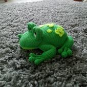 Весенняя лягушка