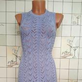 Платье, вязаное спицами