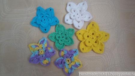 Цветочки для декора ручной работы на заказ