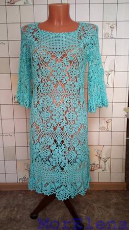 Платье пляжное ручной работы на заказ