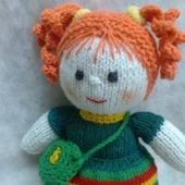 Куколка Рыженькая в зеленом