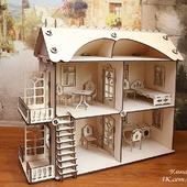"""Кукольный домик в комплектации """"Премиум"""""""