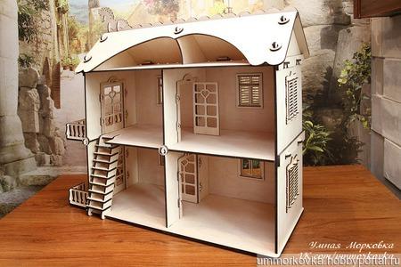 """Кукольный домик в комплектации """"Премиум"""" ручной работы на заказ"""