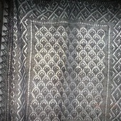 Ажурный пуховый платок
