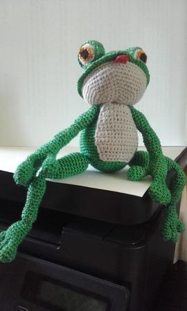 Лягушка Квакушка ручной работы на заказ