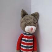 фото: Куклы и игрушки (вязаные коты)