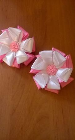 """Резиночки """"Розовая нежность"""" ручной работы на заказ"""