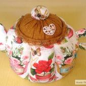 """Большой чайник """"Чайные розы"""""""