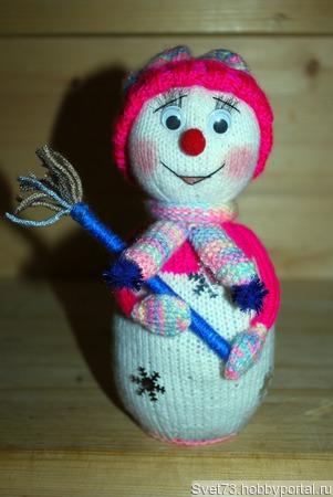 Снеговики ручной работы на заказ