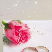 """Обложка на свидетельство о браке """"Совет да любовь"""""""