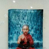 """Обложка на паспорт """"Маленький будда"""""""