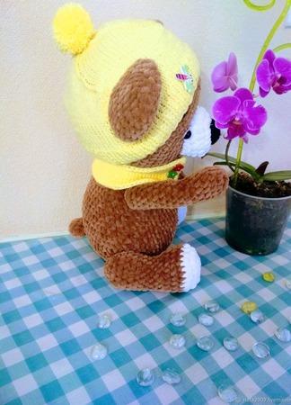 Зефирный мишка ручной работы на заказ