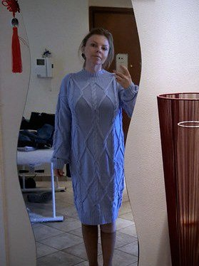 Вязаное платье ручной вязки Москва ручной работы на заказ