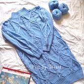 Вязаное платье ручной вязки Москва