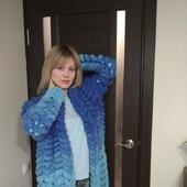 Вязаный кардиган Лало (Шиншилла) от Knit by Heart