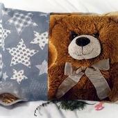 Подушка с можжевеловой стружкой