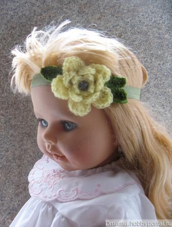 """Комплект резиночек для волос """"Полевые цветы"""" ручной работы на заказ"""