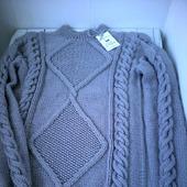 """Модный вязаный свитер """"Wave"""" крупной вязки от Knit by Heart"""