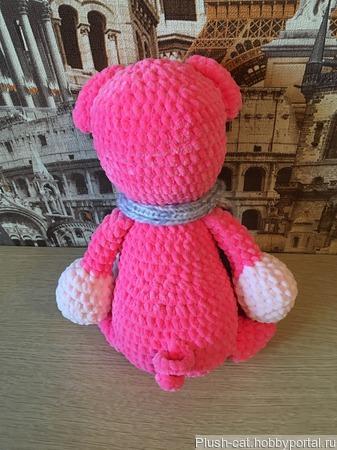 Розовая хрюшка-символ 2019 года ручной работы на заказ