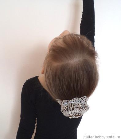 Схема сеточки для волос фриволите ручной работы на заказ