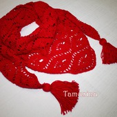 Красный бактус из микнеса для женщины