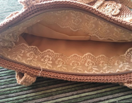 Летняя вязаная сумочка Летний зной ручной работы на заказ