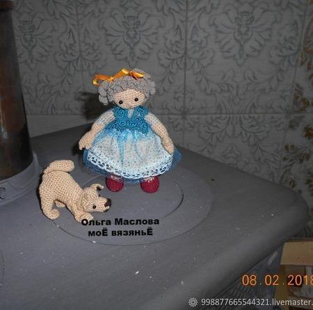 Связанная крючком Кукла Варенька ручной работы на заказ
