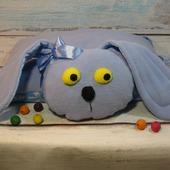 Подушка-игрушка Зайка.