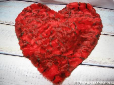 """Интерьерная подушка """"Сердце"""" ручной работы на заказ"""
