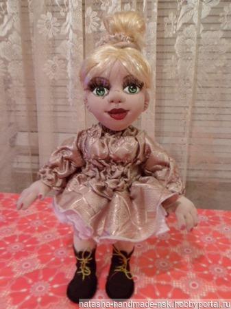 Кукла текстильная ручной работы на заказ