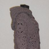 фото: пальто вязаное