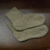Носки шерстяные классические (унисекс)
