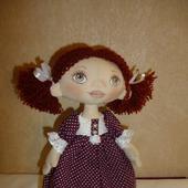Кукла текстиль