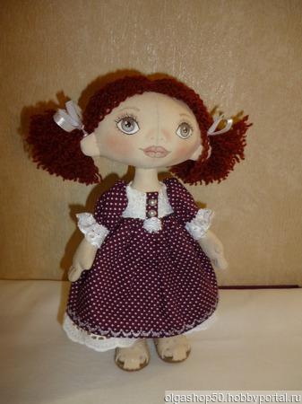 Кукла текстиль ручной работы на заказ