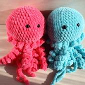 Плюшевые медузы
