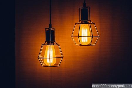 Лампа ручной работы на заказ