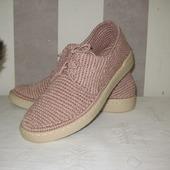 Туфли-ботинки с открытой шнуровкой