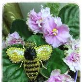 """Брошь """"Пчелка"""""""
