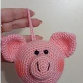 Свиношарик Символ нового 2019 года: рукодельные товары