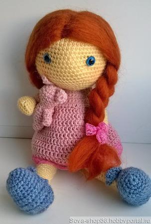 Кукла Лилу ручной работы на заказ