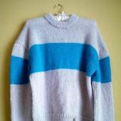 Вязаный свитер ручной работы из мохера в СПБ