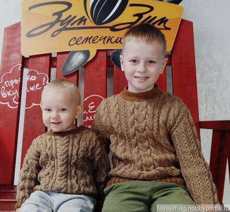 Пуловер детский ручной работы на заказ