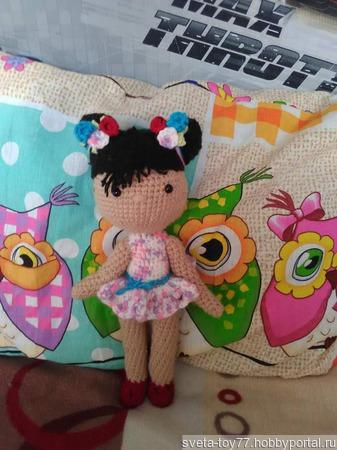 Кукла Линда ручной работы на заказ