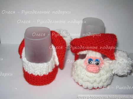 """МК пинетки """"Дедики Морозики"""" ручной работы на заказ"""