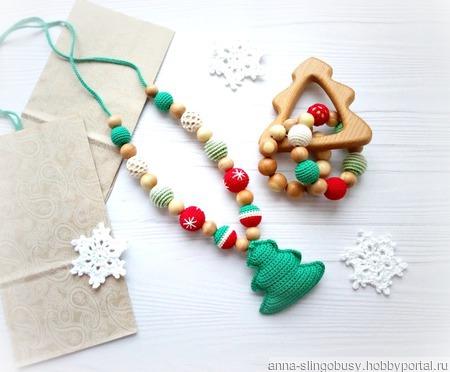 Грызунок новогодний ручной работы на заказ