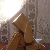 Настольная лампа, светильник собака