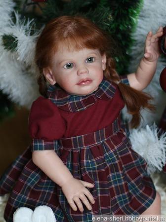 Кукла Maxi от Sigrid Bock ручной работы на заказ